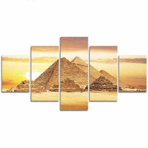 poster pyramides d'egypte