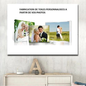 Your photos: custom print on canvas