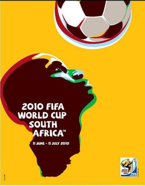 Affiche coupe du monde de football 2010