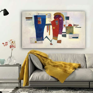 Reproduction Kandinsky la communication abstraite