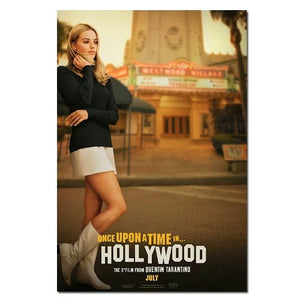 Affiche poster Once Upon a time... in Hollywood