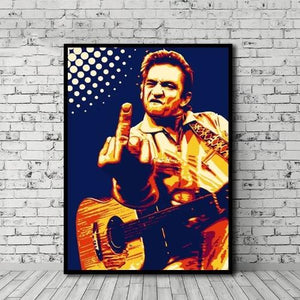Poster Musicien country Américaine : Johnny Cash
