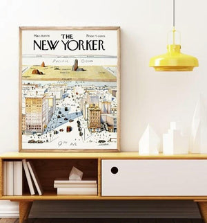 Poster vintage The New Yorker