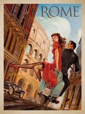 poster vintage Rome