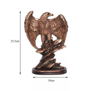 Statuette l'aigle royal art deco