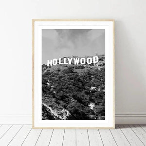 Poster les collines de Hollywood