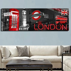 Poster Londres Big Ben ville moderne pop art