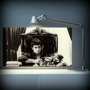 toile film scarface