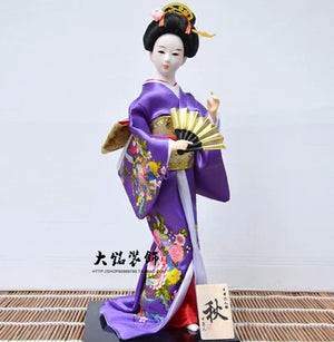 Japanese Geisha doll interior decoration