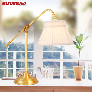 Modern Table Lamp Colorful Lampshade Home Decoration for Study Bedroom Bedside Living Room Bar Hotel