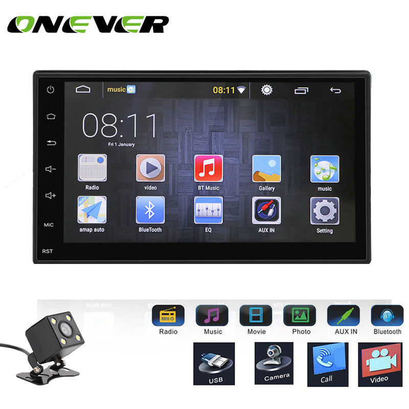 Car Stereo MP5 MP3 Player Touch Screen