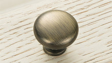 KAK 2.9X2.5CM Size Zinc Alloy Solid Cabinet Drawer Knobs Simple Wardrobe Door Pull Circle Handles Modern Furniture Hardware