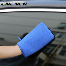 Onever Car Auto Care Wash Cloth Clean Grind Washing Gloves Clay Bar Mitt Surface Glove Wash Towel For Car Detailing Polishing