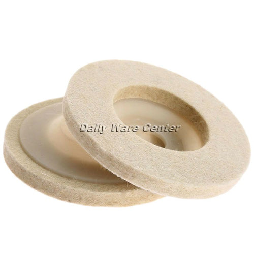 1Pc 4Inch Dia 100mm Round Polishing Wheel
