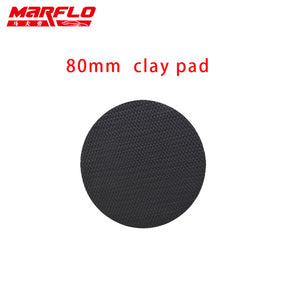 MARFLO Car Wash Fine Grade Magic Clay Pad Bar Clean Paint before Sponge Polishing Wax 6 5 4 3 inch