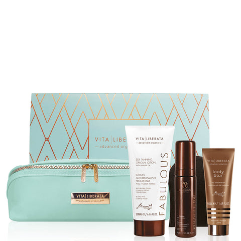 Vita Liberata BE HAPPY, BE BRIGHT, BE GLOWING HOLIDAY SET