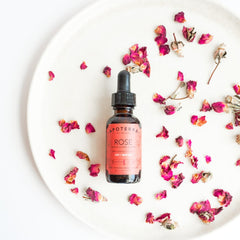 Apoterra Skincare ROSE NOURISHING SERUM WITH ROSEHIP + CoQ10
