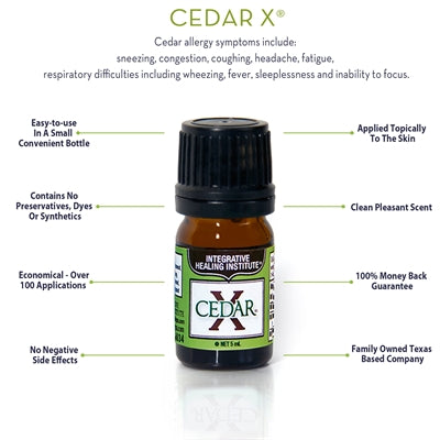 Integrative Healing Institute CEDAR X 5ML
