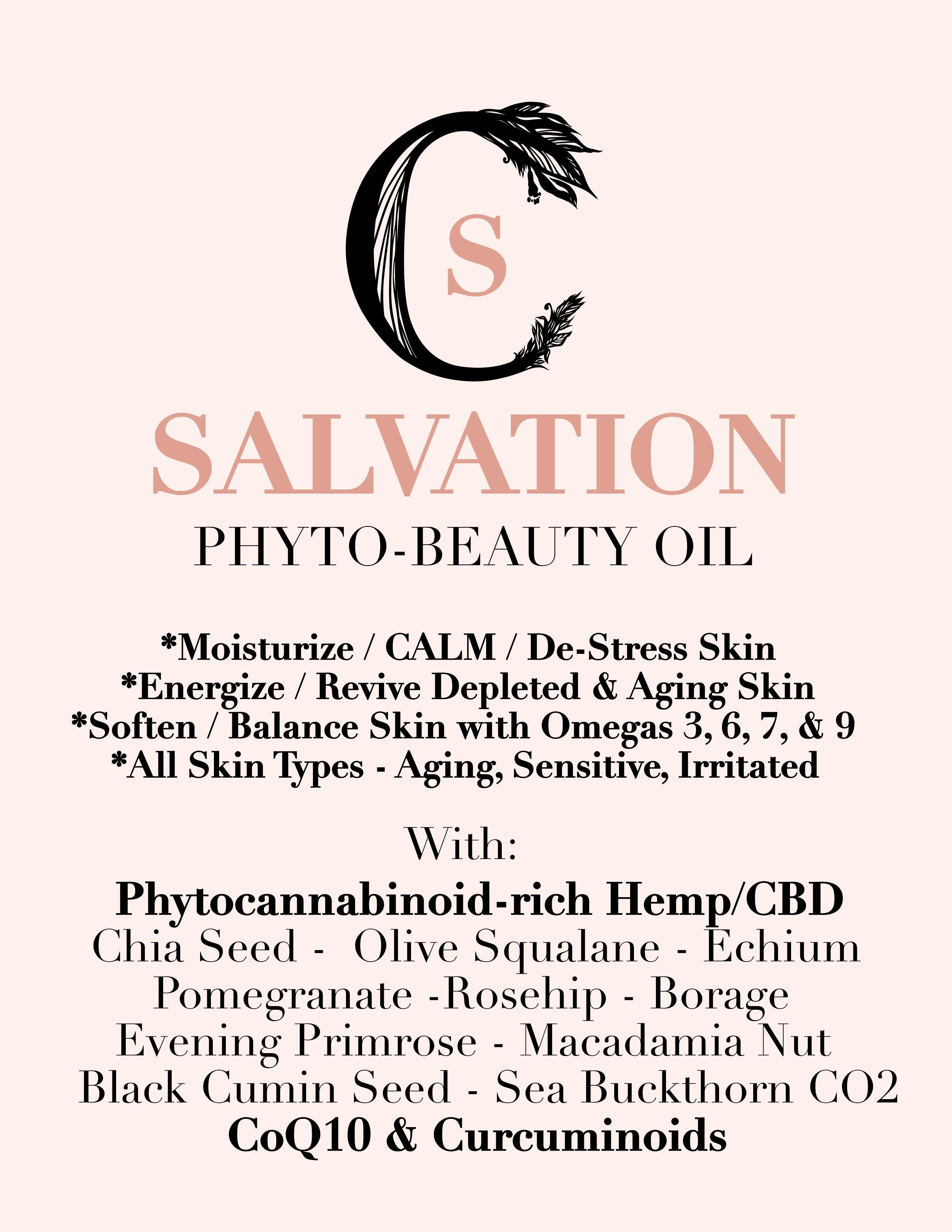Code of Harmony SALVATION OIL SERUM
