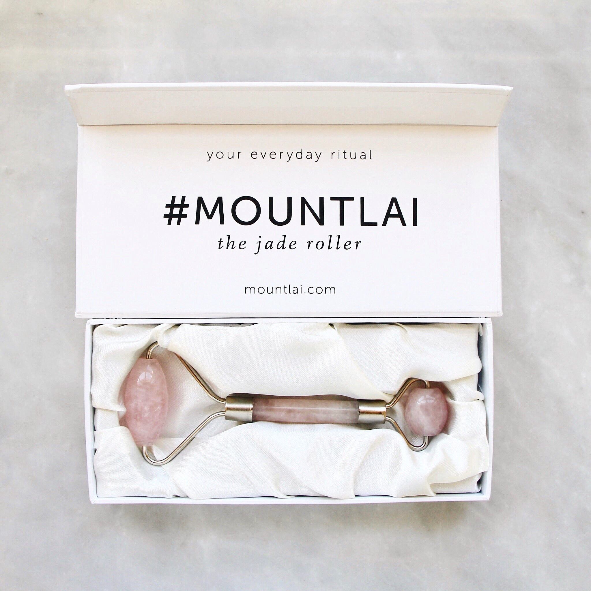 Mount Lai ROSE QUARTZ ROLLER