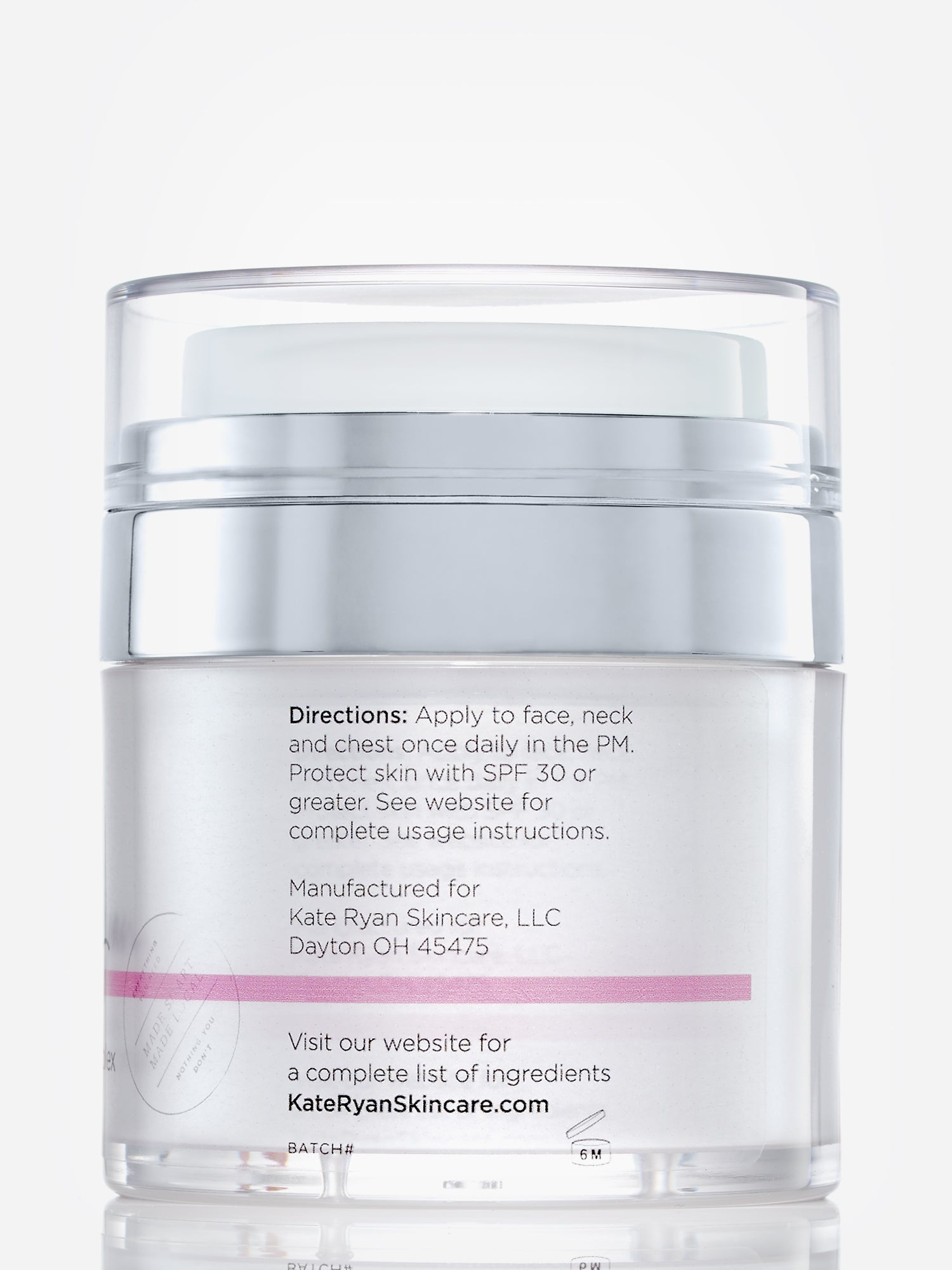 Kate Ryan Skincare TOTAL NUTRITION NIGHT REPAIR COMPLEX