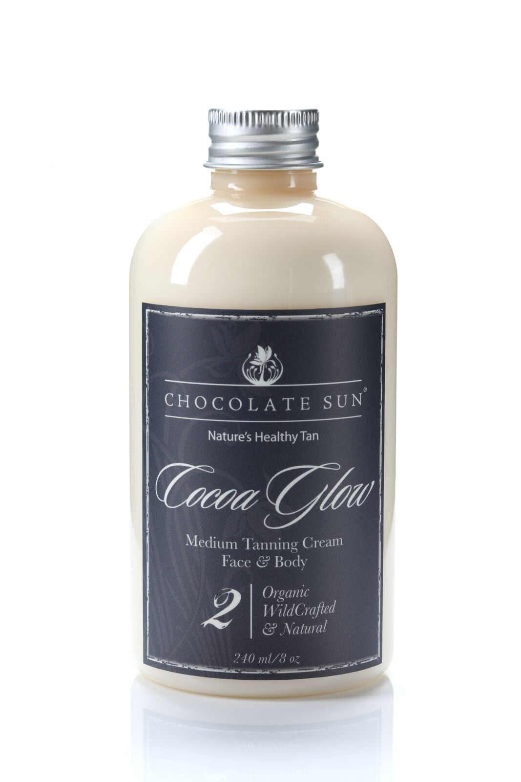 The Chocolate Sun COCOA GLOW TANNING CREAM FACE AND BODY