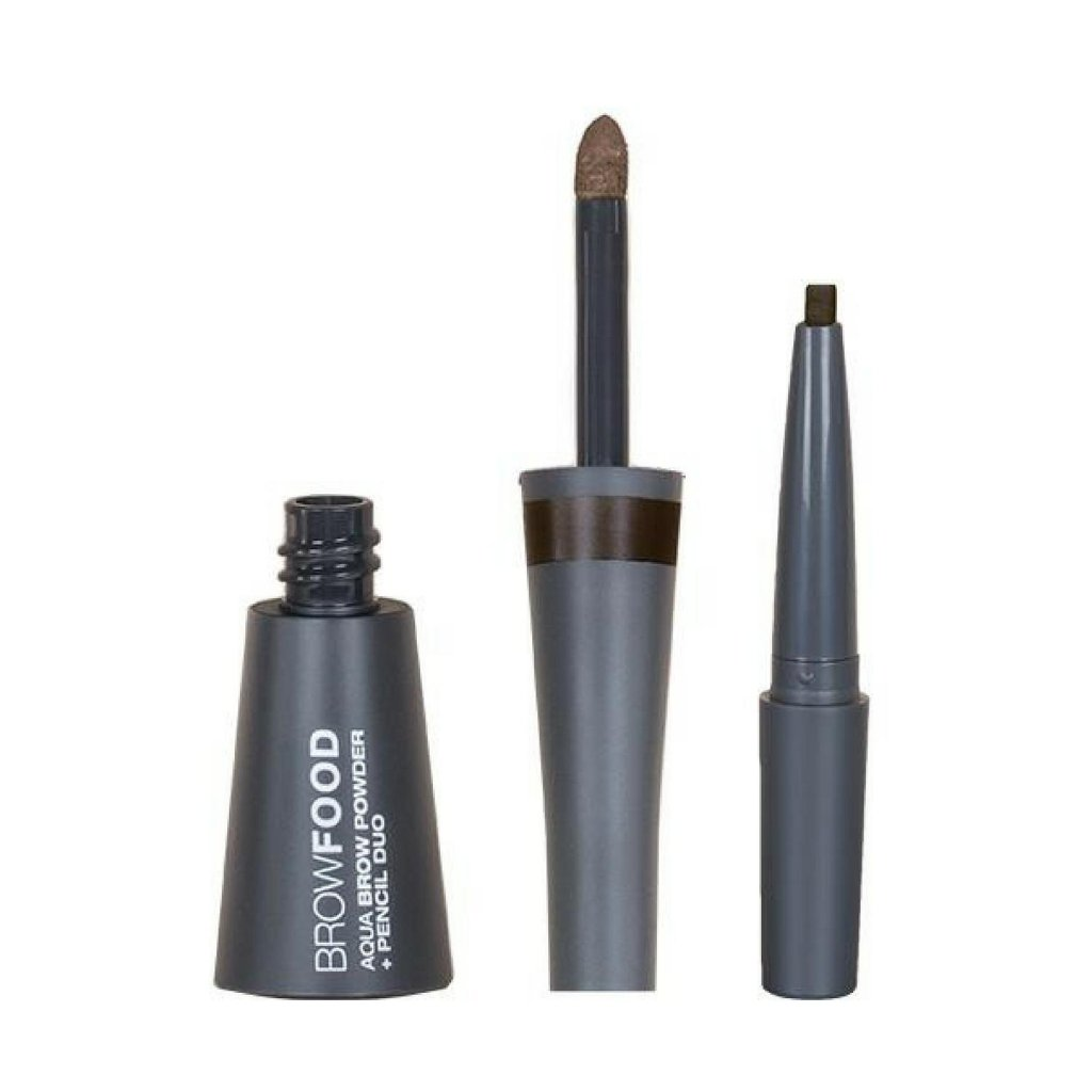 LASHFOOD BROWFOOD AQUA BROW POWDER AND PENCIL DUO