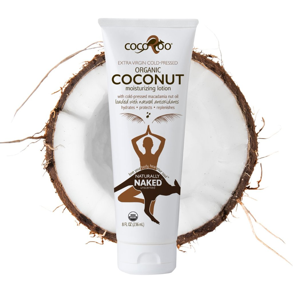 CocoRoo NATURALLY NAKED ORGANIC COCONUT OIL MOISTERIZER
