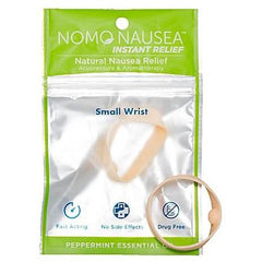 NoMo NAUSEA INSTANT RELIEF SOOTHING COOL PEPPERMINT BANDS