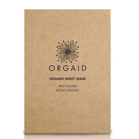 Orgaid ANTI-AGING & MOISTERIZING ORGANIC SHEET MASK