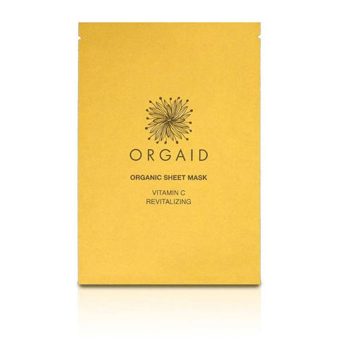 Orgaid VITAMIN C & REVITALIZING ORGANIC SHEET MASK