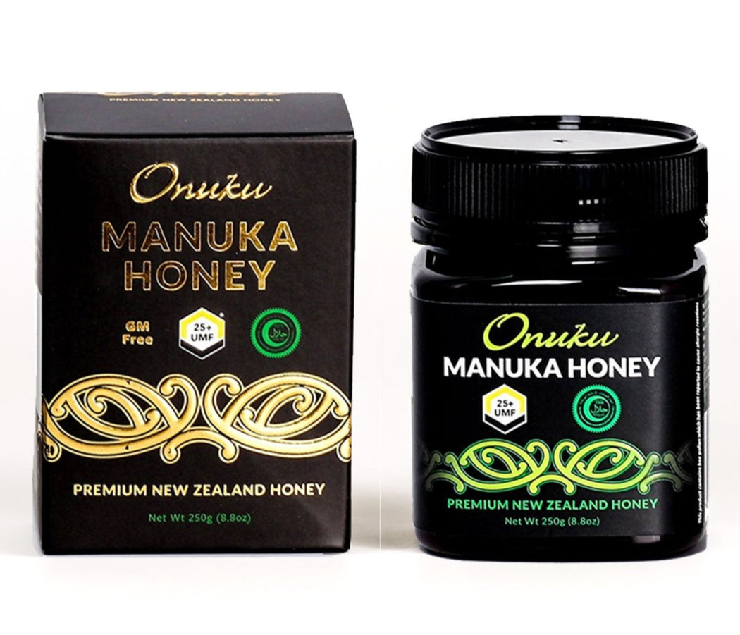 Manuka Honey Certified UMF 25+ 250g Authentic Premium 100% Natural Honey from New Zealand (MGO 1200+)