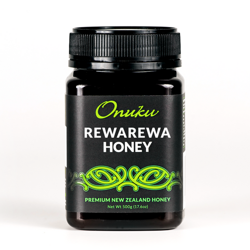 rewarewa onuka honey, antioxidant from honeysuckle trees