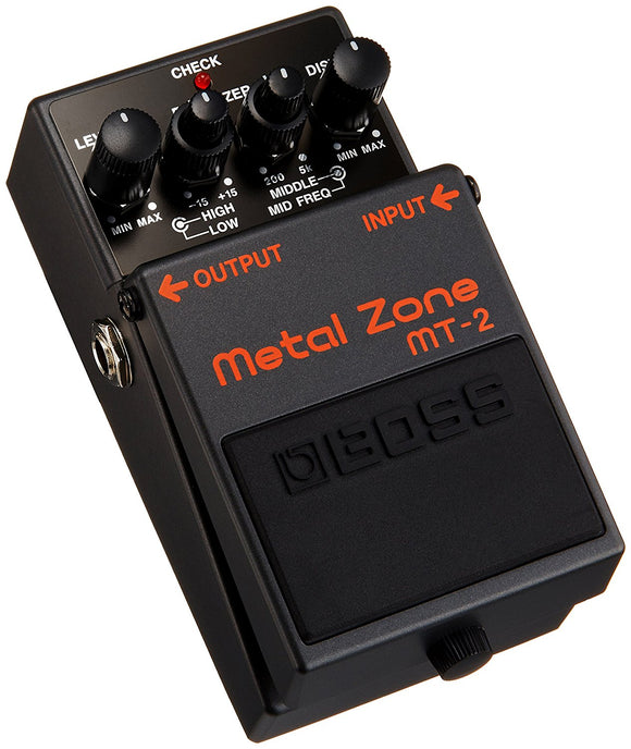 Boss Metal Zone MT-2 - Guitar Pedal Effect-Yamaha-LS Music
