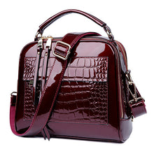 Herald Fashion Women Patent Leather Handbags - OrganicShiny