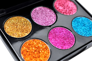 Golden Glitter Eye Shadow Palette - OrganicShiny
