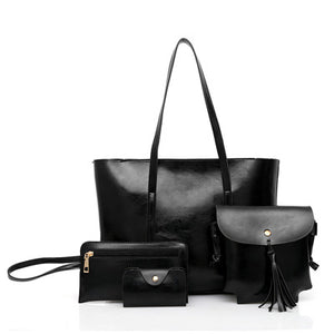 4Pcs/Set Composite Women Shoulder Bag - OrganicShiny