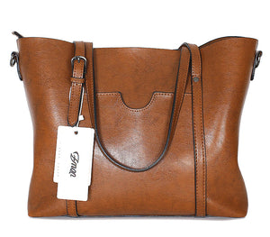 Women Luxury Outlet Women Tote Shoulder Bag Soft Leather - OrganicShiny