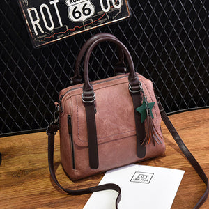 Nubuck Leather women Vintage Messenger  Luxury Bags - OrganicShiny