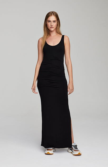 Dubai Ruched Maxi Dress
