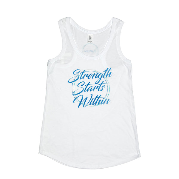 Strength Starts Within Racerback Tank