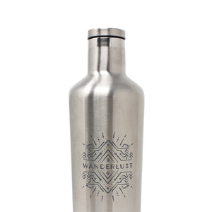 Wanderlust x Corkcicle Insulated Stainless Canteen [25 oz]