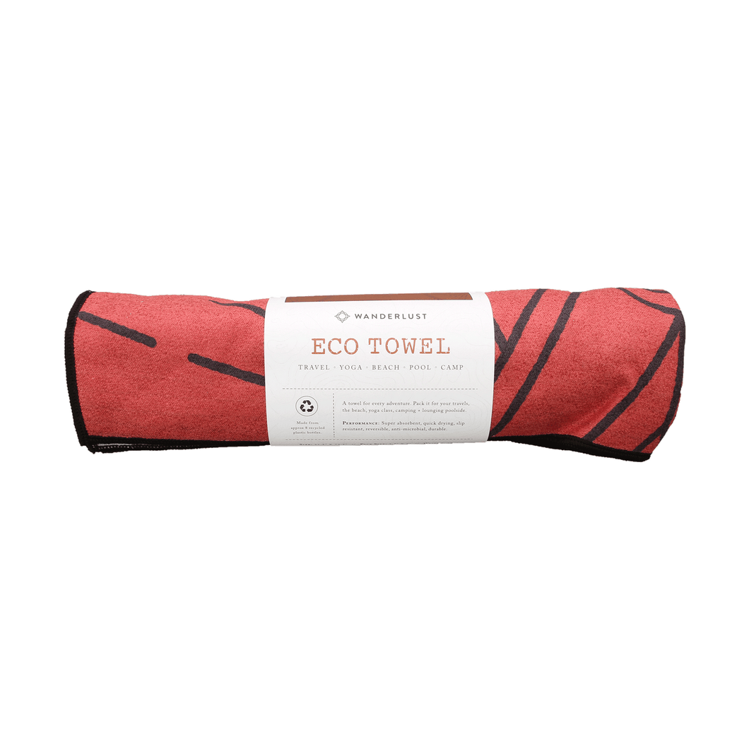 Wanderlust Eco Yoga Towel