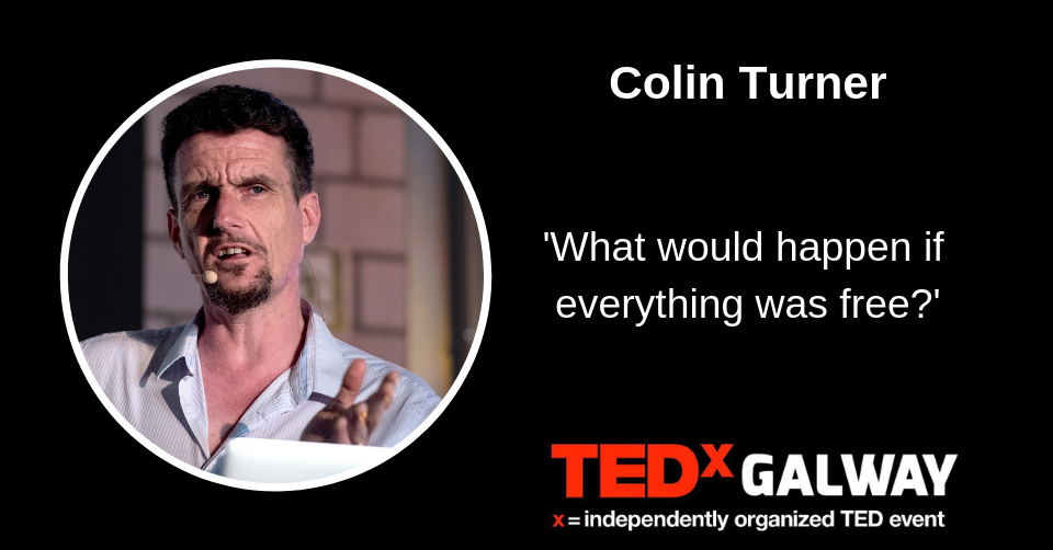 "Colin R. Turner - ""What would happen if everything was free?"""