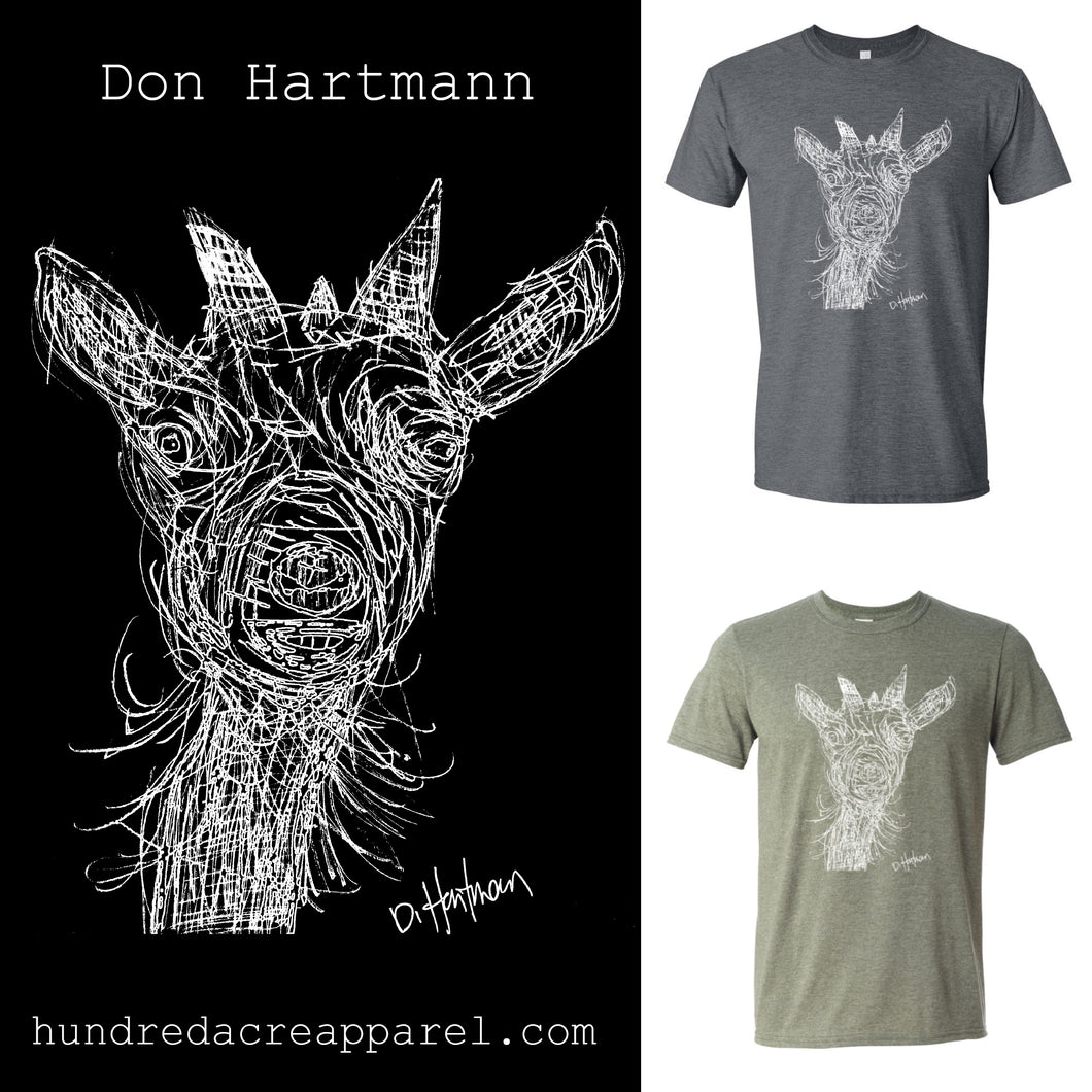 Goat by Don Hartmann T-Shirt