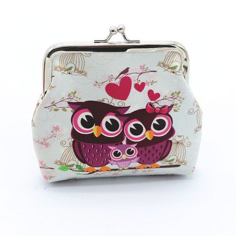 Owl / Cheetah Coin Purse