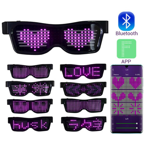 Bluetooth Led Party Glasses