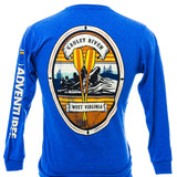 Vintage Raft Oval - Gauley River Long Sleeve