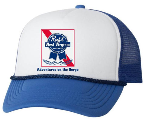 Blue Ribbon Trucker Hat