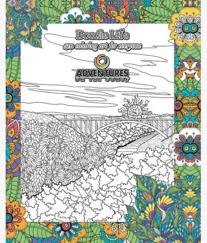 Coloring Book -  Adventures on the Gorge